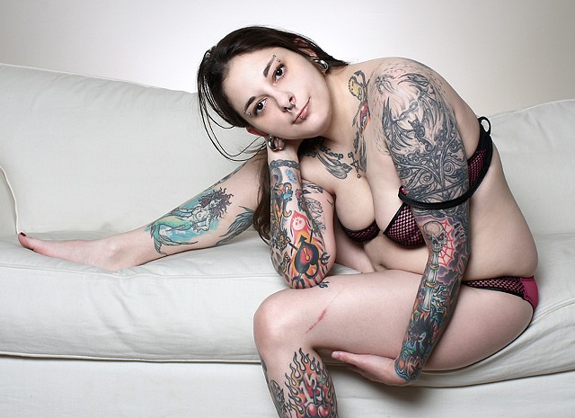 The Tattooed Lady