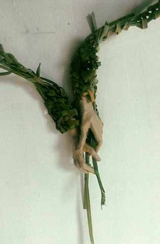 Karoo Gestures Pensive Detail