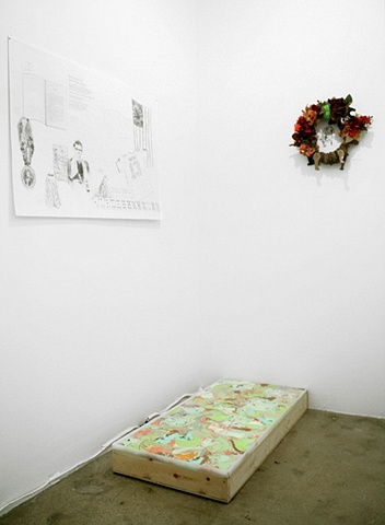 ON EGOCASTING: Installation View