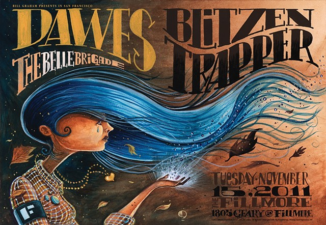 Dawes / Blizten Trapper at The Fillmore in San Francisco