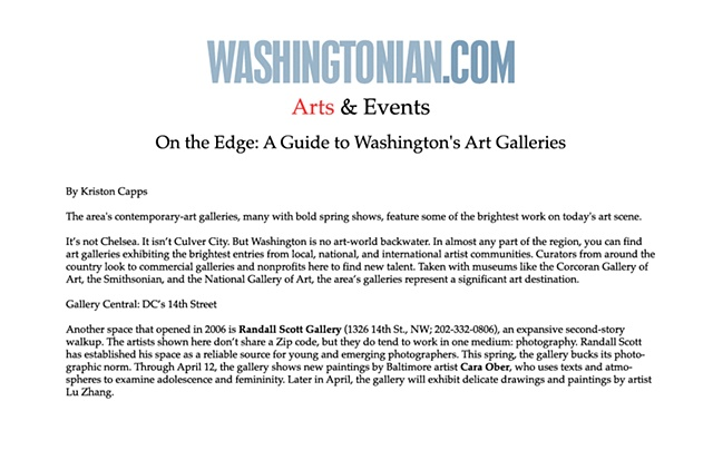 Washingtonian Magazine, March 08
