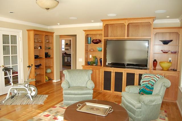 Irvington--Sunroom Built-ins