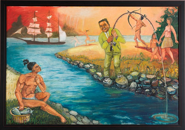 Young Fats Goes Fishing With The Natives