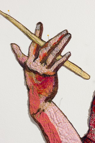 Steve the Drummer, detail
