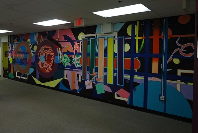 Artomatic 2012 Mural - Ninth Floor