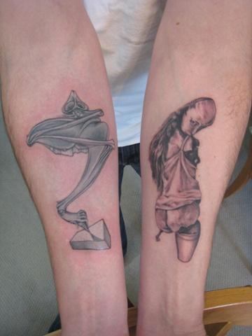 hans belmer artwork, custom tattoo, Provincetown, Cape Cod, Coastline, Ptown