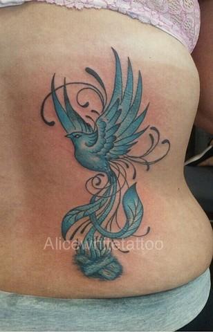 phoenix tattoo, Provincetown tattoo, Cape Cod tattoo, Ptown tattoo, truro, wellfleet, custom tattoo, coastline tattoo