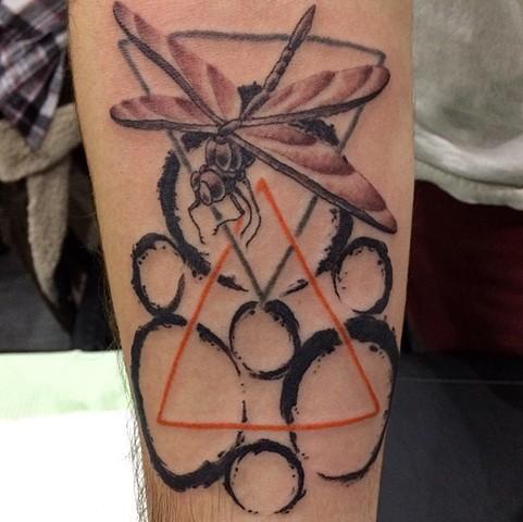 Coheed and Cambria tattoo, Provincetown tattoo, Cape Cod tattoo, Ptown tattoo, truro, wellfleet, custom tattoo, coastline tattoo
