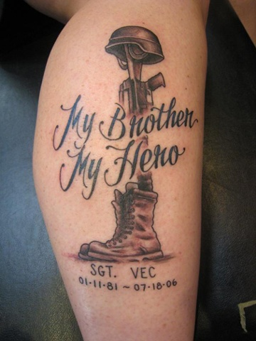 marine memorial, military, black and grey, lettering, Provincetown tattoo, Cape Cod tattoo, Ptown tattoo, truro tattoo, wellfleet tattoo, custom tattoo, coastline tattoo