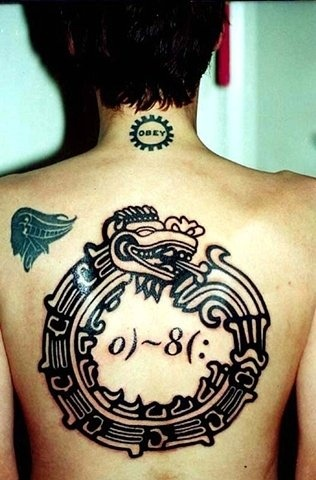 ouroboros, custom tattoo, Provincetown, Cape Cod, Coastline, Ptown