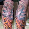 above and below, heaven and hell, custom tattoo, Provincetown, Cape Cod, Coastline, Ptown