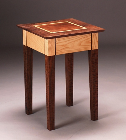 end table handmade by Kyle Dallman