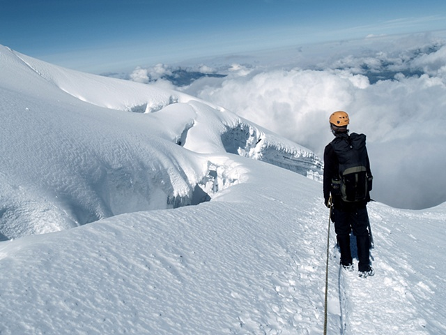 Colin and the Crevasse