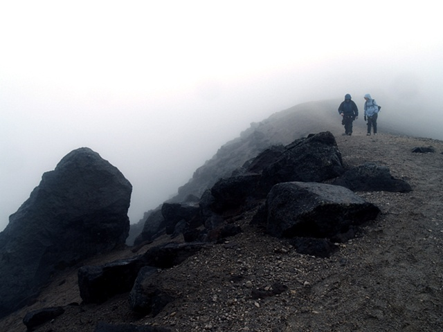 Descending the Volcano