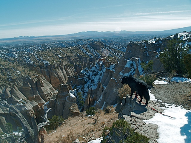 Above Tent Rocks