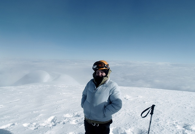 Me at 18,700 feet