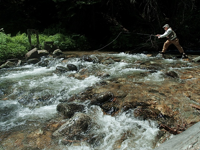 My Father Fly-Fishing