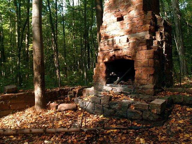 Ruins in Summer