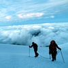 Climbers Above the Clouds