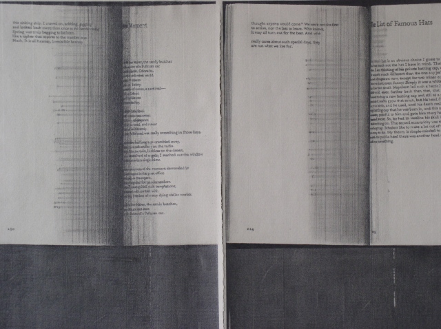 graphite drawing book photocopy by Molly Springfield