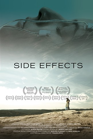 Side Effects poster with laurels