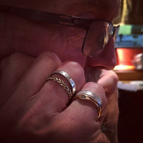Norman Westberg's rings. #normanwestberg #swans #rings
