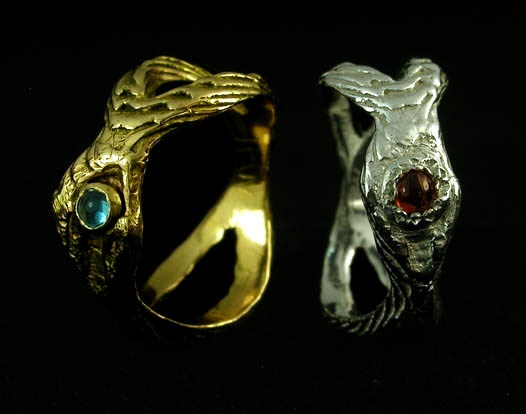 Kristin & Jeni eye rings