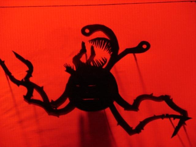 Monster Shadow Puppet