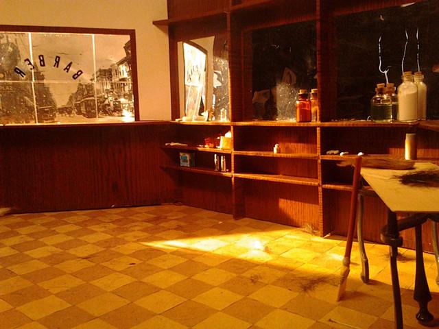 Mini Abe Barber Shop Set