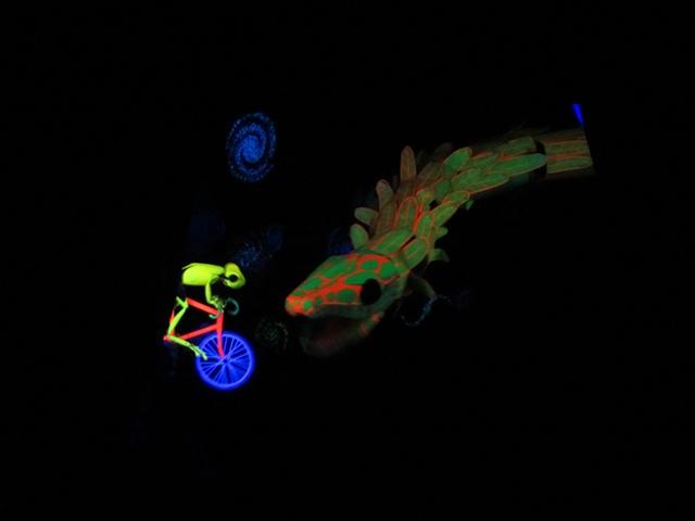 Bike Frog and Quetzalcoatl