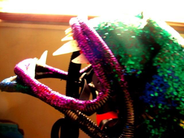 Queen Alien Head Piece