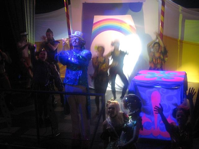 Rainbow Shadow Puppet