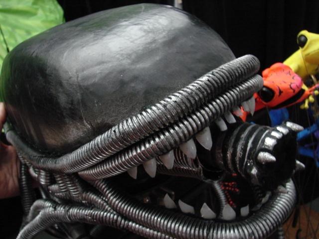 Hero Alien Close Up of Head Piece