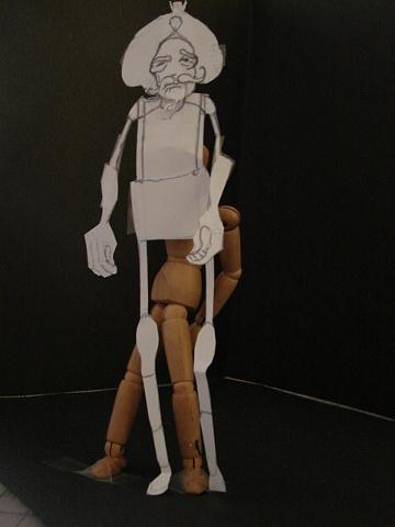 Model of King Bunraku Puppet