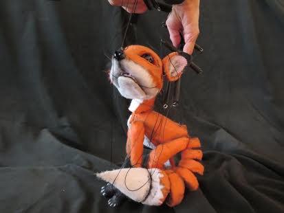 Little Fox marionette