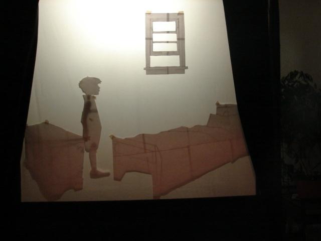 Jojo's Bedroom Shadow Scene