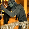 Puppeteer in Cheetah Puppet