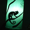 Lizard Shadow Puppet Lantern