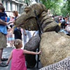 Komodo Dragon Parade Puppet