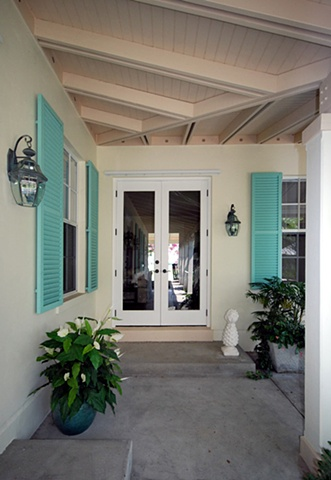 Interior courtyard, FL