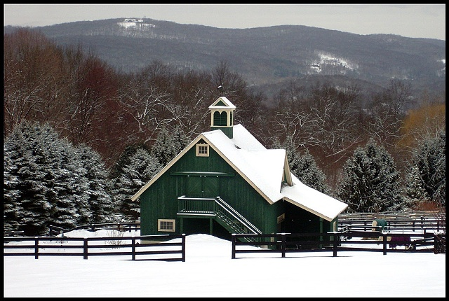 Barn, Sherman CT