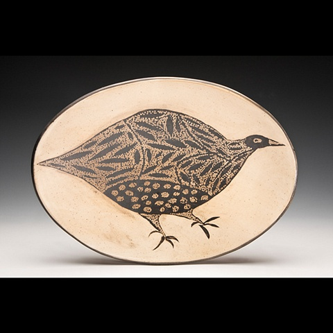 Oval Bird Platter SOLD