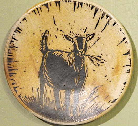 Goat Plate SOLD