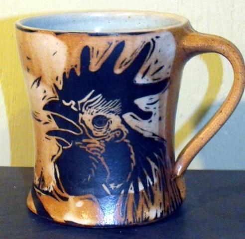 Rooster Mug SOLD
