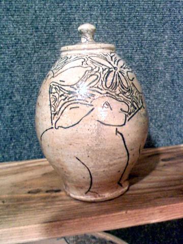 Small Rabbit Jar SOLD