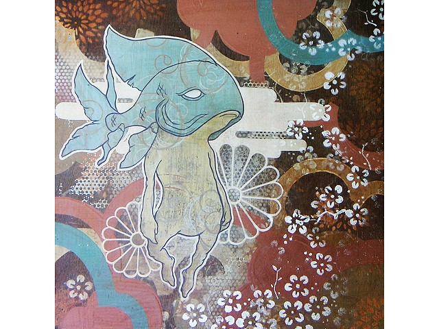 """ koibito in pale blue """