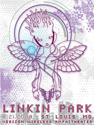 linkin park tour poster