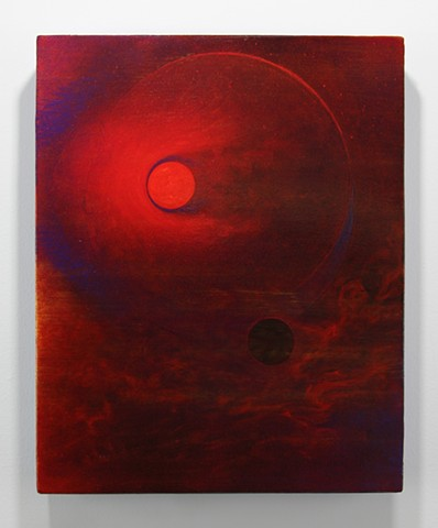 Untitled (Red Sun)