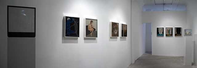 "Benjamin Kress ""Somebody, Anybody, Nobody"" installation view"