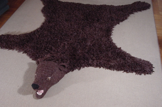 Bear Rug